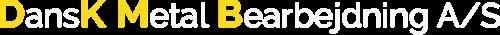 Dansk Metal Beabejdning Logo